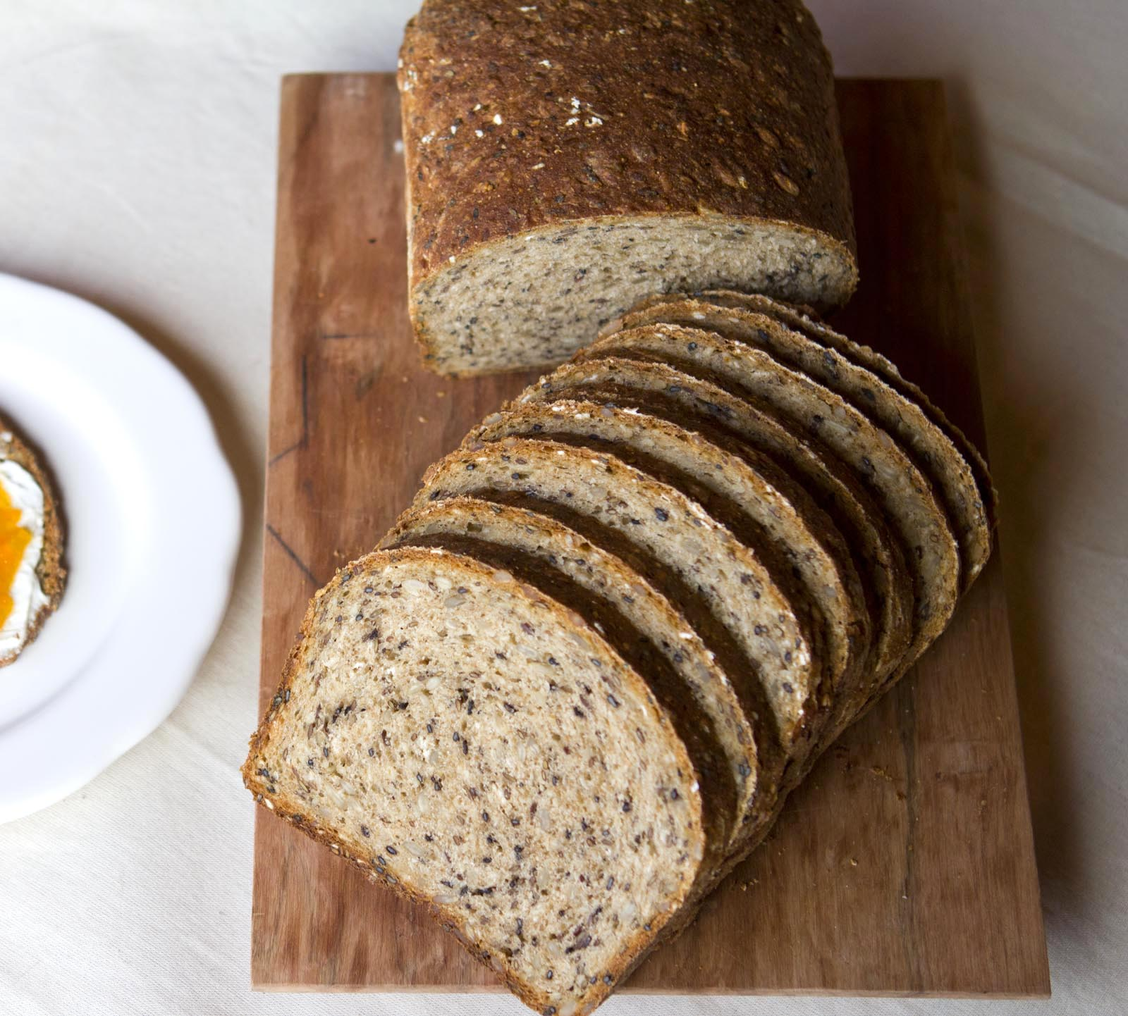 Receta pan integral con semillas